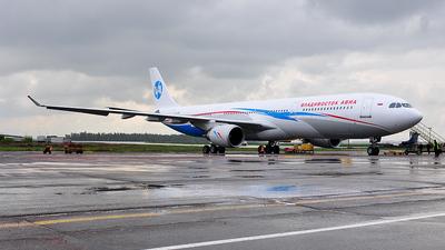 VQ-BCW - Airbus A330-301 - Vladivostok Air