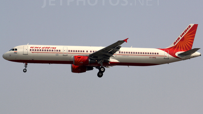 VT-PPQ - Airbus A321-211 - Air India