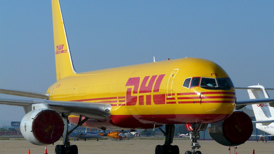 OO-DPB - Boeing 757-236(SF) - DHL (European Air Transport)