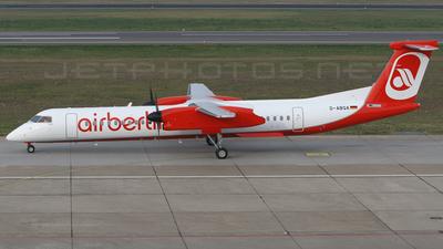 D-ABQA - Bombardier Dash 8-Q402 - Air Berlin (LGW Luftfahrtgesellschaft Walter)