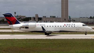 N868AS - Bombardier CRJ-200LR - Delta Connection (Atlantic Southeast Airlines)