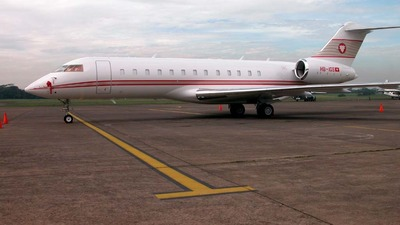 HB-IGS - Bombardier BD-700-1A10 Global Express - Private