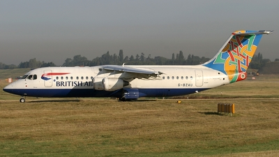 G-BZAU - British Aerospace Avro RJ100 - British Airways (CitiExpress)