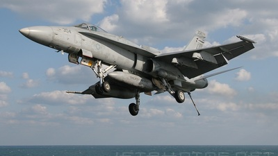 164655 - McDonnell Douglas F/A-18C Hornet - United States - US Navy (USN)