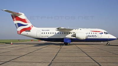 G-LCYB - British Aerospace Avro RJ85 - BA CityFlyer