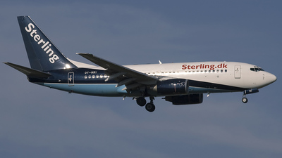 OY-MRI - Boeing 737-7L9 - Sterling Airlines