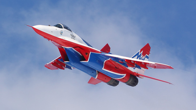 10 - Mikoyan-Gurevich MiG-29 Fulcrum - Russia - Air Force