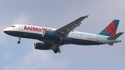 N625AW - Airbus A320-231 - America West Airlines