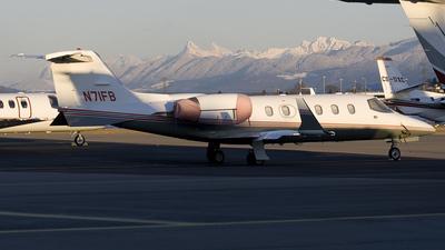N71FB - Bombardier Learjet 31A - Roxbury Technologies