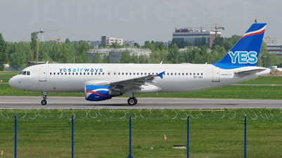 SP-IAA - Airbus A320-214 - Yes Airways