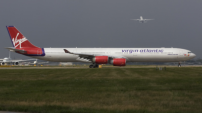 G-VOGE - Airbus A340-642 - Virgin Atlantic Airways