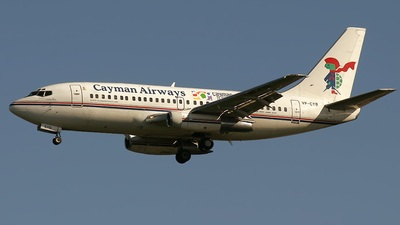 VP-CYB - Boeing 737-2S2C(Adv) - Cayman Airways
