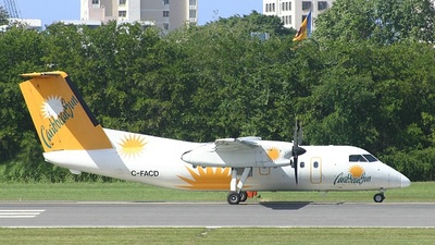 C-FACD - Bombardier Dash 8-102 - Caribbean Sun Airlines