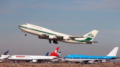 N747BZ - Boeing 747-4J6 - Kingdom Holding Company