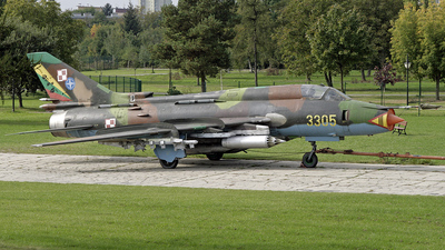 3305 - Sukhoi Su-22M4 Fitter K - Poland - Air Force