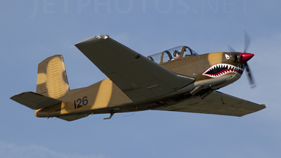 N44007 - Beechcraft T-34A Mentor - Private