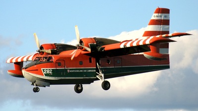 C-FAYN - Canadair CL-215 - Canada - Government of Newfoundland and Labrador