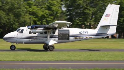 A picture of N24HV - De Havilland Canada DHC6100 Twin Otter - [109] - © Joe Osciak