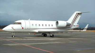 HB-IVV - Bombardier CL-600-2B16 Challenger 604 - Private