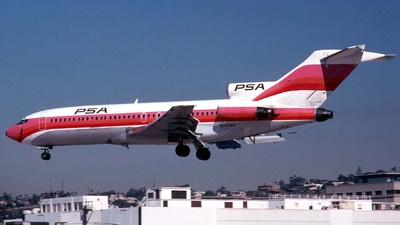 N693WA - Boeing 727-173C - Pacific Southwest Airlines (PSA)