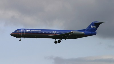 G-BVJC - Fokker 100 - bmi British Midland International