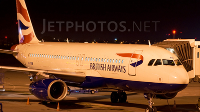 G-TTOB - Airbus A320-232 - British Airways