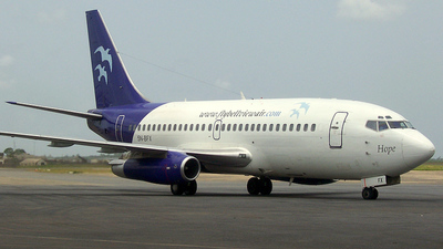 5N-BFX - Boeing 737-291(Adv) - Bellview Airlines