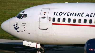 OM-AAD - Boeing 737-33A - Slovak Airlines