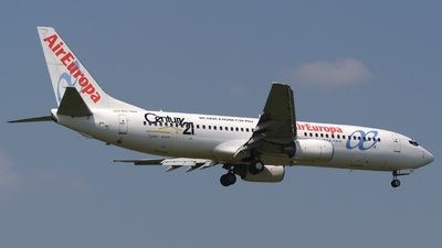 EC-ISN - Boeing 737-86Q - Air Europa