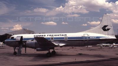 A picture of N89CF - Convair 340 Convairliner - [189] - © Jay Selman - airlinersgallery.com