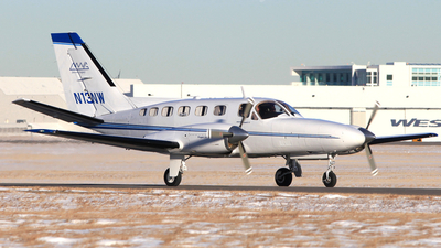 A picture of N13NW - Cessna 441 Conquest - [4410090] - © Mike MacKinnon