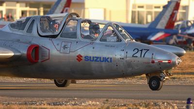 F-AZNK - Fouga CM-170 Magister - Private