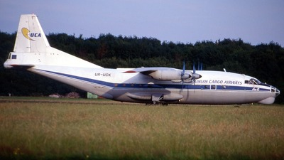 UR-UCK - Antonov An-12BK - Ukrainian Cargo Airways (UCA)