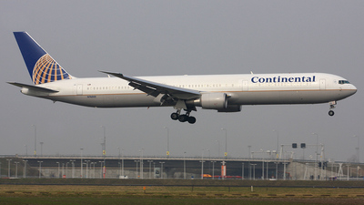 N76055 - Boeing 767-424(ER) - Continental Airlines