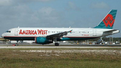 N604AW - Airbus A320-232 - America West Airlines
