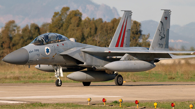 701 - McDonnell Douglas F-15D Improved Baz - Israel - Air Force