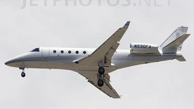 A picture of N590FA - Gulfstream G150 - [224] - © Michelangelo Minervini