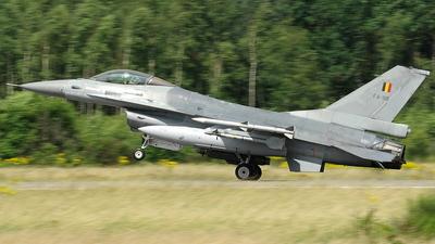 FA-98 - General Dynamics F-16AM Fighting Falcon - Belgium - Air Force