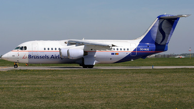 OO-MJE - British Aerospace BAe 146-200 - Brussels Airlines