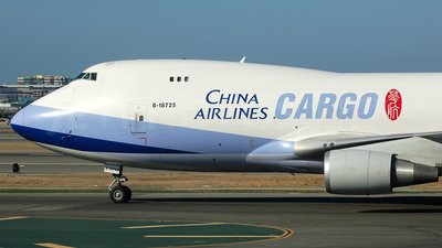 B-18725 - Boeing 747-409F(SCD) - China Airlines Cargo