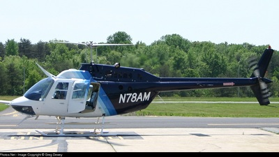 A picture of N78AM - Bell 206B - [4060] - © Greg Dewey