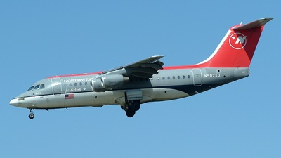 N507XJ - British Aerospace Avro RJ85 - Northwest Airlink (Mesaba Airlines)
