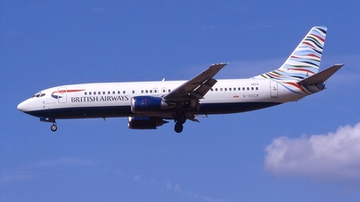 G-DOCR - Boeing 737-436 - British Airways