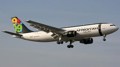 5A-IAY - Airbus A300B4-620 - Afriqiyah Airways