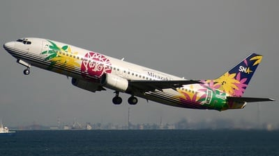JA737A - Boeing 737-46Q - Skynet Asia Airways