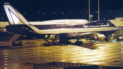 I-DEMF - Boeing 747-243B(M) - Alitalia