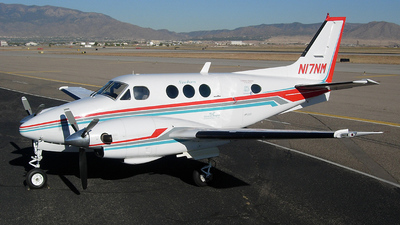 A picture of N17NM - Beech E90 King Air - [LW237] - © Sun Valley Aviation