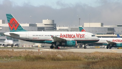N806AW - Airbus A319-132 - America West Airlines