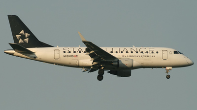 N828MD - Embraer 170-100SU - US Airways Express (Republic Airways)
