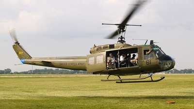 N624HF - Bell UH-1H Iroquois - Private